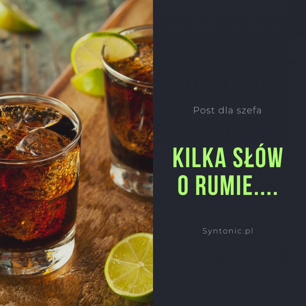 Co ma wspólnego rum, whisky....